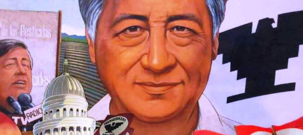 Cesar Chavez: Farm Labor Leader, Civil Rights Worker, and Vegan.