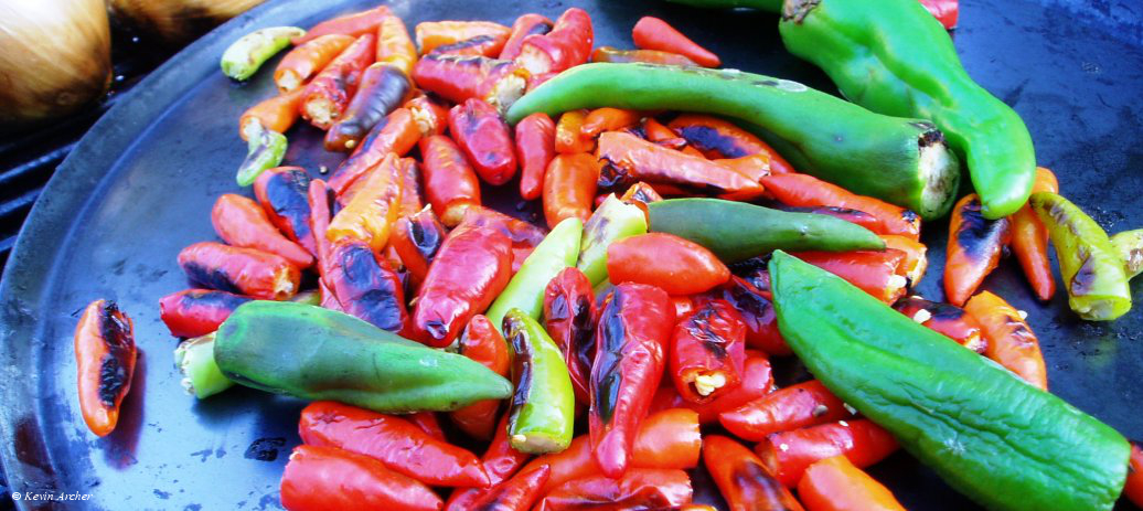 Peppers on the Comal