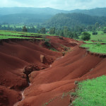 Extreme soil erosion largely due to overgrazing, in the Mexican state of Michoacan. (http://en.ird.fr/ird.fr/the-media-centre/scientific-newssheets/396-rehabilitation-of-eroded-land-in-mexico)