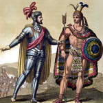 Hernan Cortes meets Moctezuma II. It wasn't all pageantry and politeness.