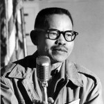 Larry Itliong, whose Agricultural Workers Organizing Committee began the Delano grape strike on September 8, 1965.