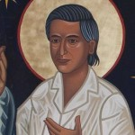 Saint Cesar Chavez, From the Dancing Saints Icon mural at St. Gregory of Nyssa Episcopal Church, San Francisco, CA.