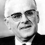 Earl Butz, Secretary of Agriculture, 1971-1976.