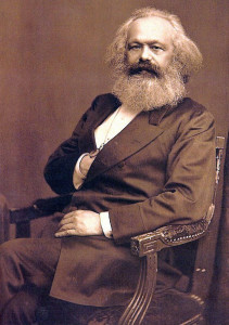 Which is more of a threat to capitalism, Karl Marx or a seed?