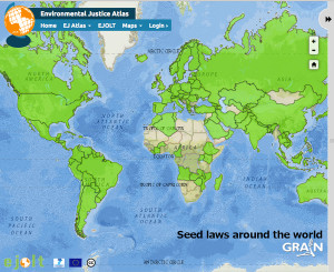 Please visit the interactive map of Seed Laws Around the World. It is enlightening. http://www.grain.org/article/entries/5153-map-seed-laws-around-the-world