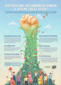Please visit www.grain.org to learn about their work on behalf of small farmers worldwide.