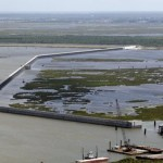 Lake Borgne Surge Barrier, aka The Great Wall of Louisiana