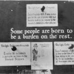 US eugenics advocacy poster, circa 1926.