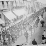 U.S. troops occupy Veracruz, Mexico in April 1914. (Flickr Commons Project, 2010/Courtesy Library of Congress)