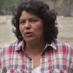 Honduran environmental activist Berta Cáceres, killed by US-trained forces in 2015.