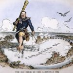 President Theodore Roosevelt wields his Big Stick in the Caribbean and Central America.