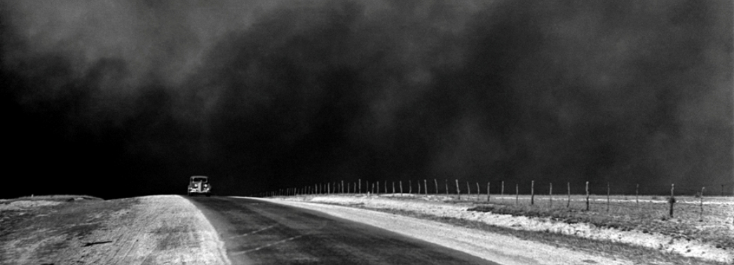 Arthur Rothstein, Dust Bowl, Texas Panhandle 1047x378