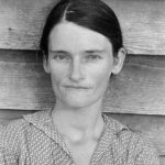 Allie Mae Burroughs, by Walker Evans