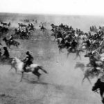 A fascinating photo from April 22, 1889, when the Oklahoma Land Rush began.