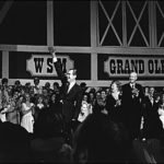 President Nixon greets a friendly crowd at the Grand Ole Opry House's grand opening. Image: Grand Ole Opry Museum