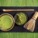 The matcha tea used in the Japanese Tea Ceremony.