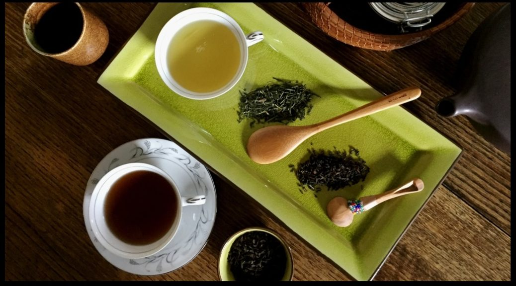 Pu'ehr and Sencha Tasting. Photo by Kevin Archer (c) 2018