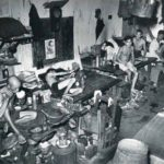 An opium den in Singapore, early 1900s.