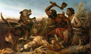 Richard Ansdell, The Hunted Slave, 1861